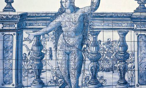 Elementos de Arquitetura na Obra de ADRIANA VAREJÃO