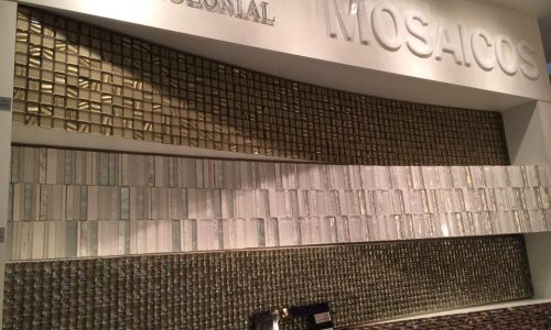 Expo Revestir 2014: PORCELANOSA / GLASS MOSAIC / VILLAGRES
