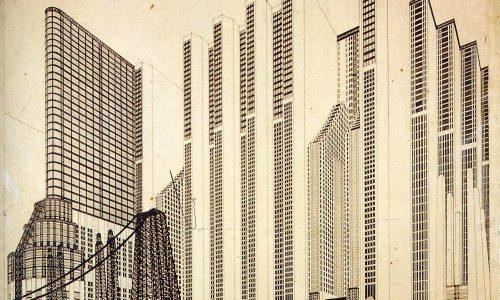 Os Desenhos Futuristas de CHIATTONE & SANT'ELIA
