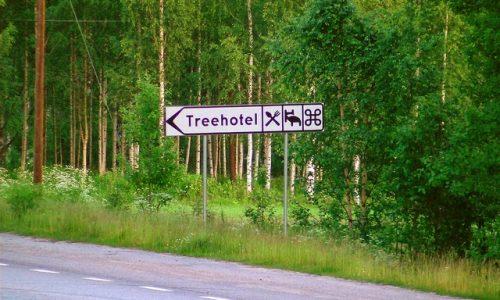 ARQUITURISMO: Treehotel, Suécia