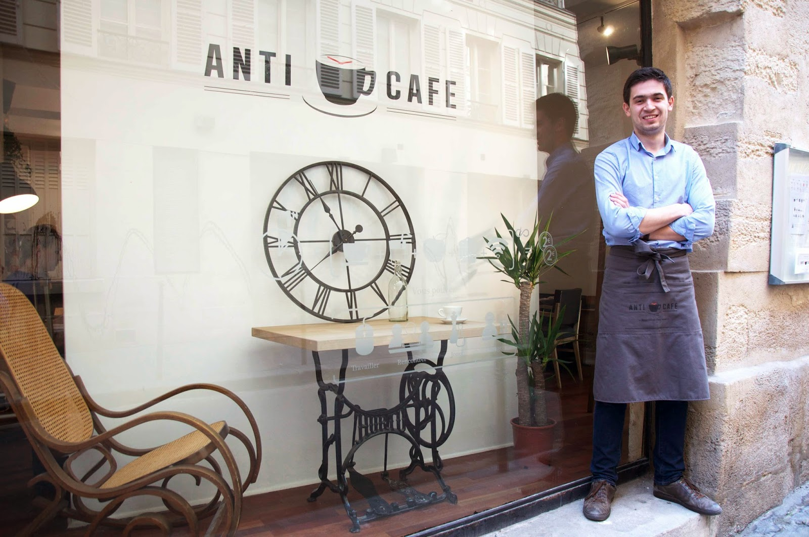 ANTICAFÉ: Coworking, Food and Coffee
