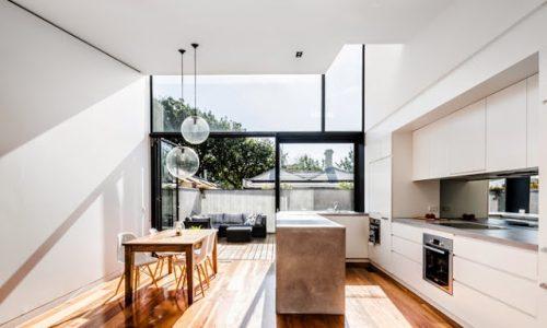 Em Melbourne, Uma Imóvel Antigo Transformado Em Moderno