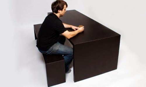 THERMOCHROMIC TABLE,  A Mesa Gadget