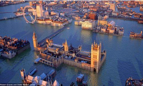 Artistas Ilustram Previsões Para a Londres de 2.100