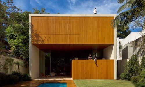 A Casa Tetris de Marcio Kogan