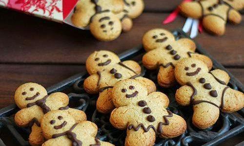 Delícias de Natal: Biscoitos de Gengibre