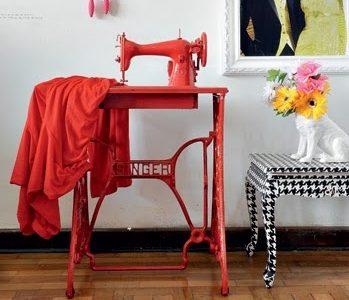 Dicas da Larissa: As Velhas Máquinas de Costura