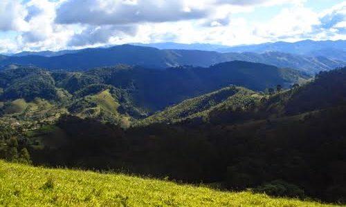 Vista Para As Montanhas de Minas