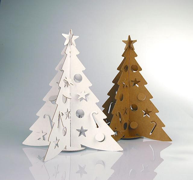 Árvores Criativas Na Decoração Natalina