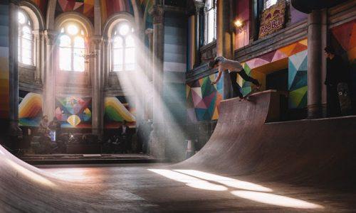 Uma Igreja Transformada em Pista de Skate