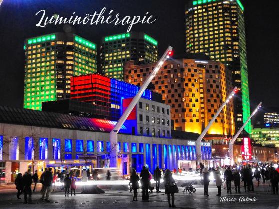 Luminothérapie, Montreal, 2015/2016
