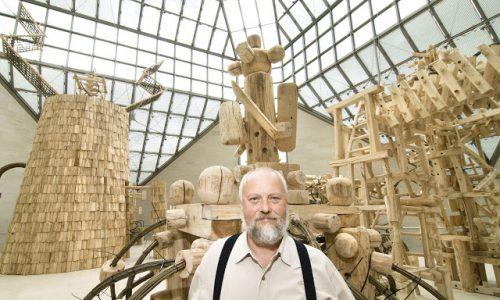 As Mega Estruturas Artesanais de Nikolay Polissky