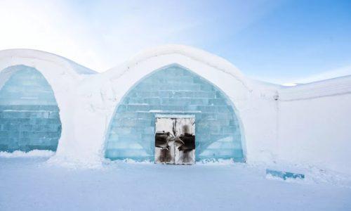 Um Hotel Feito de Gelo