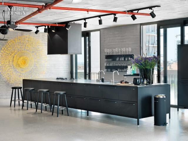 Inspiração: Um Apartamento Minimalista e Industrial