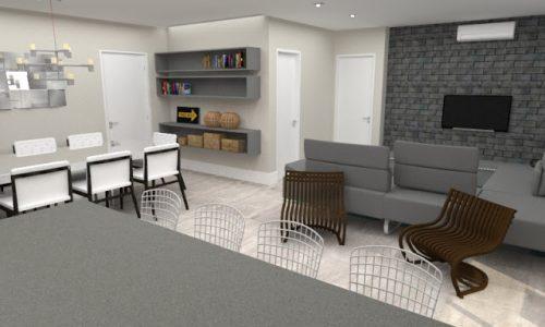 Um Apartamento Moderno e Prático para uma Jovem Família