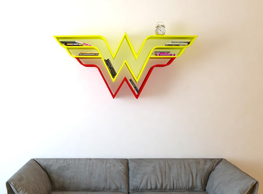 Estantes Divertidas Inspiradas Em Super Heróis