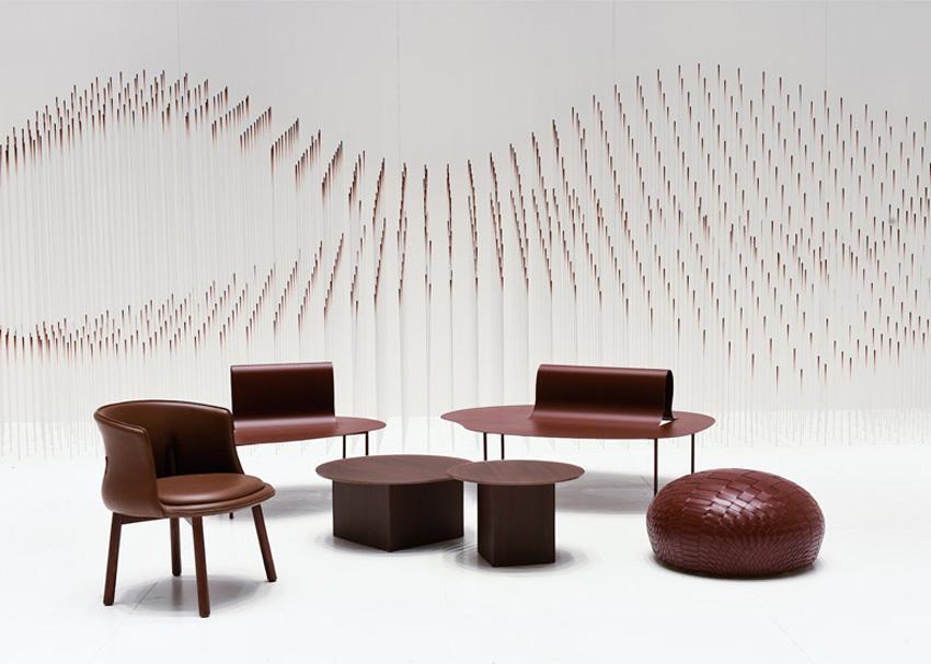 Lounge Chocolate by Nendo - Maison Object 2015